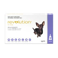 Revolution Spot On with Cannex Wormer Extra Small Dog 2.6-5kg - 3pk