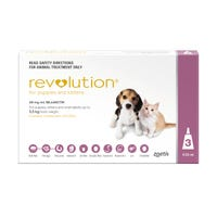 Revolution Spot On with Cannex Wormer Puppy Kitten Up to 2.5kg - 3pk