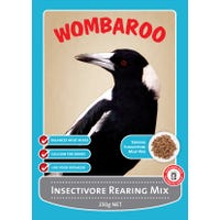 Wombaroo Insectivore Rearing Mix Bird Food - 250g