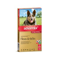 Advantix Flea And Tick Spot On Large Dog 10-25kg - 6pk