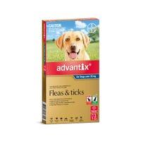 Advantix Flea And Tick Spot On Extra Large Dog 25kg+ - 3pk
