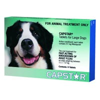 Capstar 57 6s Green Flea Tablets over 11kg - 6pk