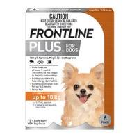 Frontline Plus Flea Spot On Small Dog 0-10kg - 6pk