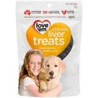 Love Em Chicken Liver Dog Treats - 90g