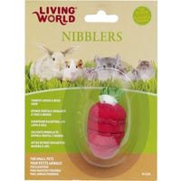 Living World Wood Loofah Strawberry Small Animal Chew Toy - Each