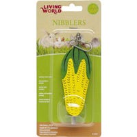 Living World Nibblers Treat Corn Small Animal Chew Toy - Each