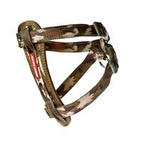 EzyDog Chest Plate Harness Camo Dog Harness - Small