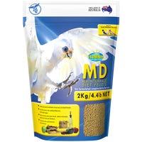 Vetafarm Parrot MD Maintenance Diet Pellets Bird Food - 2kg