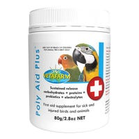 Vetafarm Poly Aid Plus First Aid Bird Supplement - 80g