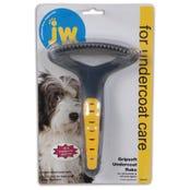 JW Gripsoft Under Coat Regular Rake for Dogs - Each