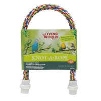 Living World Banana Cotton Bird Perch - 16mm x 52cm