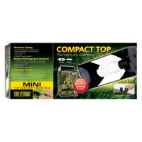 Exo Terra Compact Fluoro Light Hood Terrarium Canopy - 30cm