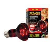 Exo Terra Heat Glo Infrared Basking Spot Heat Lamp - 50w