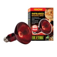 Exo Terra Heat Glo Infrared Basking Spot Heat Lamp - 150w
