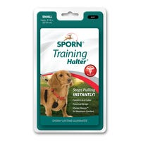 Sporn Halter Black No Pull Dog Harness - Small