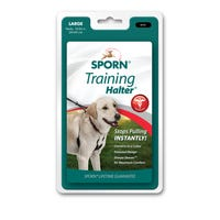 Sporn Halter Black No Pull Dog Harness - Large