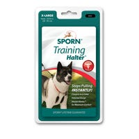 Sporn Halter Black No Pull Dog Harness - XLarge