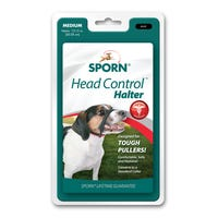 Sporn Head Halter Black No Pull Dog Harness - Medium