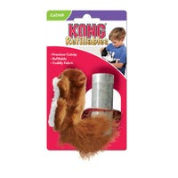 KONG Refillable Catnip Squirrel Cat Toy - Each