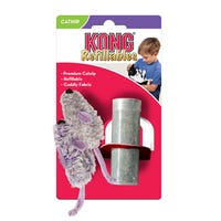 KONG Refillable Catnip Mice 2 Pack Cat Toy - Each