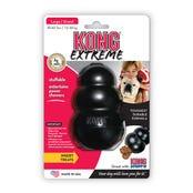 KONG Extreme Black Rubber Dog Toy - Large