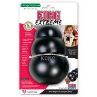KONG Extreme Black Rubber Dog Toy - XXLarge
