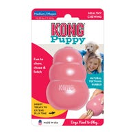 KONG Puppy Rubber Dog Toy - Medium