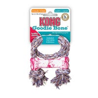 KONG Bone with Rope Puppy Dog Toy - XSmall