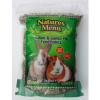 Natures Menu Rabbit & Guinea Pig Pellets - 2kg