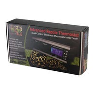 Eco Tech Reptile Thermostat Dual Control Electronic Thermostat with Timer - Each