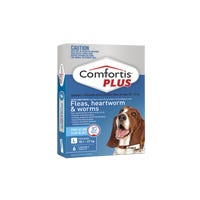 Comfortis Plus Flea And Worming Chews Large 18.1-27kg - 6pk