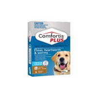 Comfortis Plus Flea And Worming Chews Extra Large 27.1-54kg - 6pk