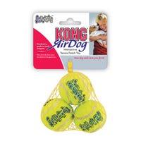 KONG AirDog Squeaker Medium Balls Dog Toy - 3pk