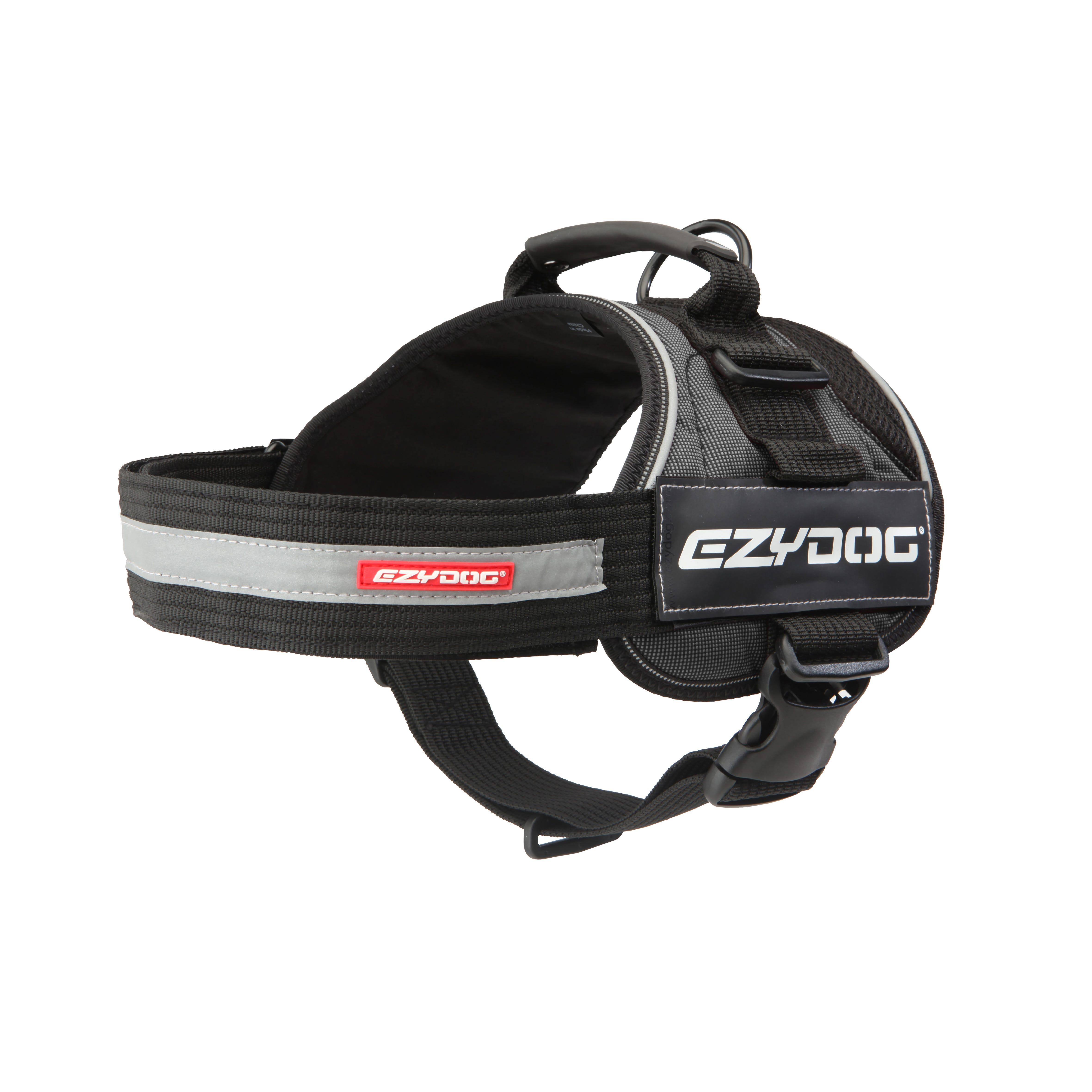 EzyDog Convert Harness Charcoal Dog