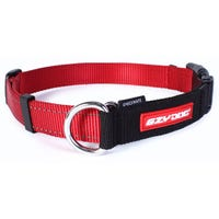 Ezy Dog Checkmate Red Training Dog Collar - XLarge