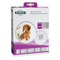 Staywell Original 2-Way Pet Door White - Small