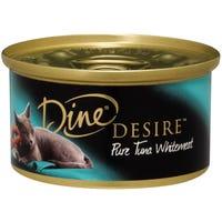 Dine Desire Pure Tuna Whitemeat Wet Cat Food - 85g