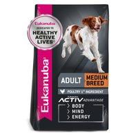 Eukanuba Adult Medium Breed Dry Dog Food - 3kg