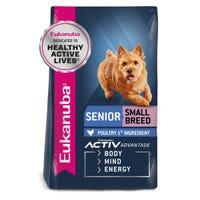 Eukanuba Mature Small Breed Dry Dog Food - 3kg