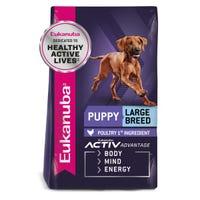 Eukanuba Puppy Large Breed Dry Dog Food - 15kg
