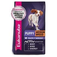 Eukanuba Puppy Medium Breed Dry Dog Food - 15kg
