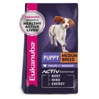 Eukanuba Puppy Medium Breed Dry Dog Food - 3kg