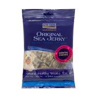Fish 4 Dogs Sea Jerky Fish Squares Dental Chews Dog Treats - 100g