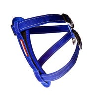 EzyDog Chest Plate Harness Blue Dog Harness - Small