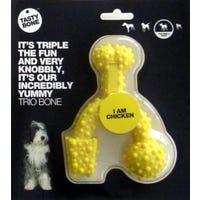 Tasty Bone Nylon Trio Chicken Flavoured Dog Toy - Large