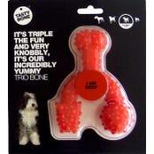 Tasty Bone Nylon Trio Beef Flavoured Dog Toy - Small