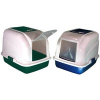 Showmaster Hooded Rectangle Litter Tray - Each