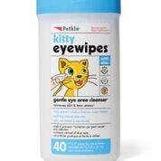 Petkin Kitty Eye Wipes - 40pk
