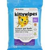 Petkin Kitty Wipes - 15pk