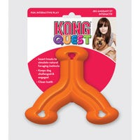KONG Quest Wishbone Dog Toy - Small